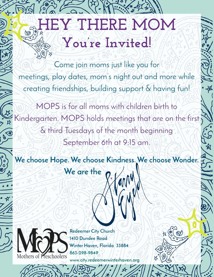 Moms Night Out Invitation Beautiful Best 25 Mops theme Ideas On Pinterest