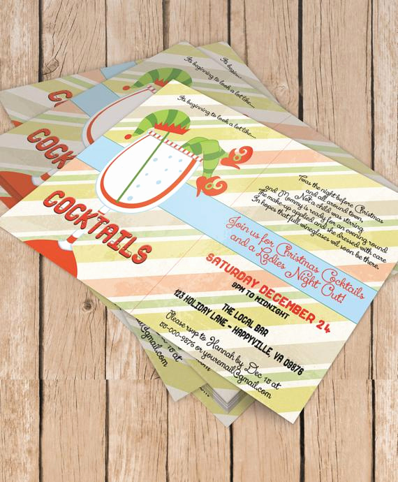 Moms Night Out Invitation Best Of La S Night Out Cocktail Party Printable by eventsyoucanprint