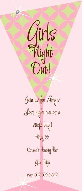 Moms Night Out Invitation Inspirational Girls Night Invitation Wording