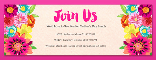 Moms Night Out Invitation New Free Mother S Day Line Invitations