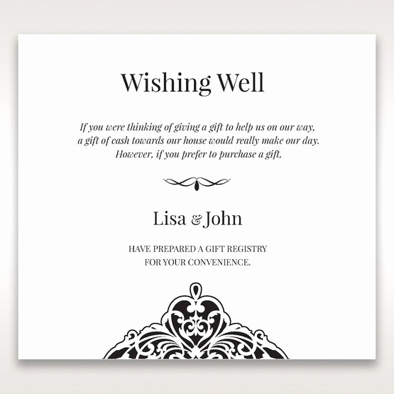 Money Tree Invitation Wording Awesome Crystal Drop On Elegant Black Laser Cut