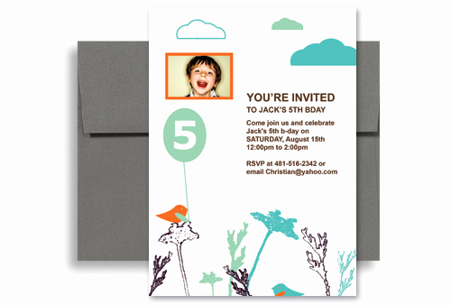 Money Tree Invitation Wording Awesome Tweeter Cloud Tree Singing Birthday Invitation Examples