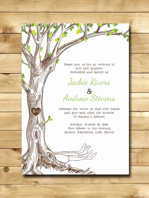 Money Tree Invitation Wording Inspirational 25 Best Ideas About Tree Wedding Invitations On Pinterest
