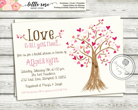 Money Tree Invitation Wording Lovely Bridal Shower Invitation Wedding Shower Invite