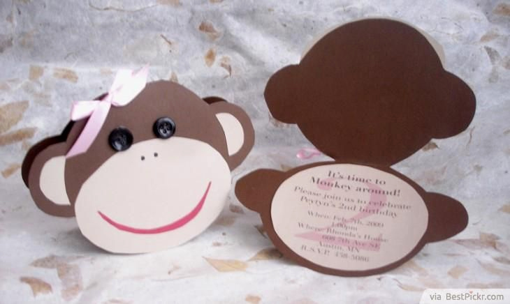 Monkey Invitation Templates Free Inspirational 17 Best Ideas About Baby Shower Monkey On Pinterest