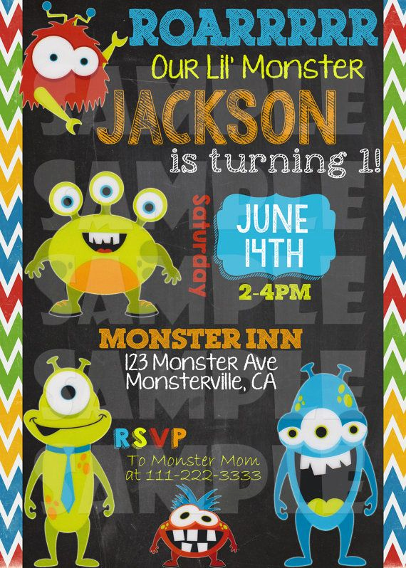 Monster Birthday Invitation Template Inspirational Free Monster Birthday Invitations – Free Printable