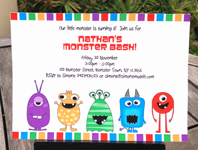 Monster Birthday Invitation Template New How to Edit My Monster Party Invitations Template