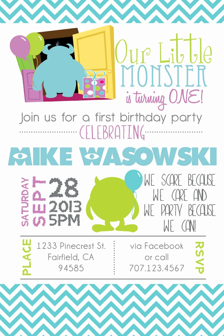 Monster Inc Invitation Template Best Of Best 25 Monsters Inc Quotes Ideas On Pinterest