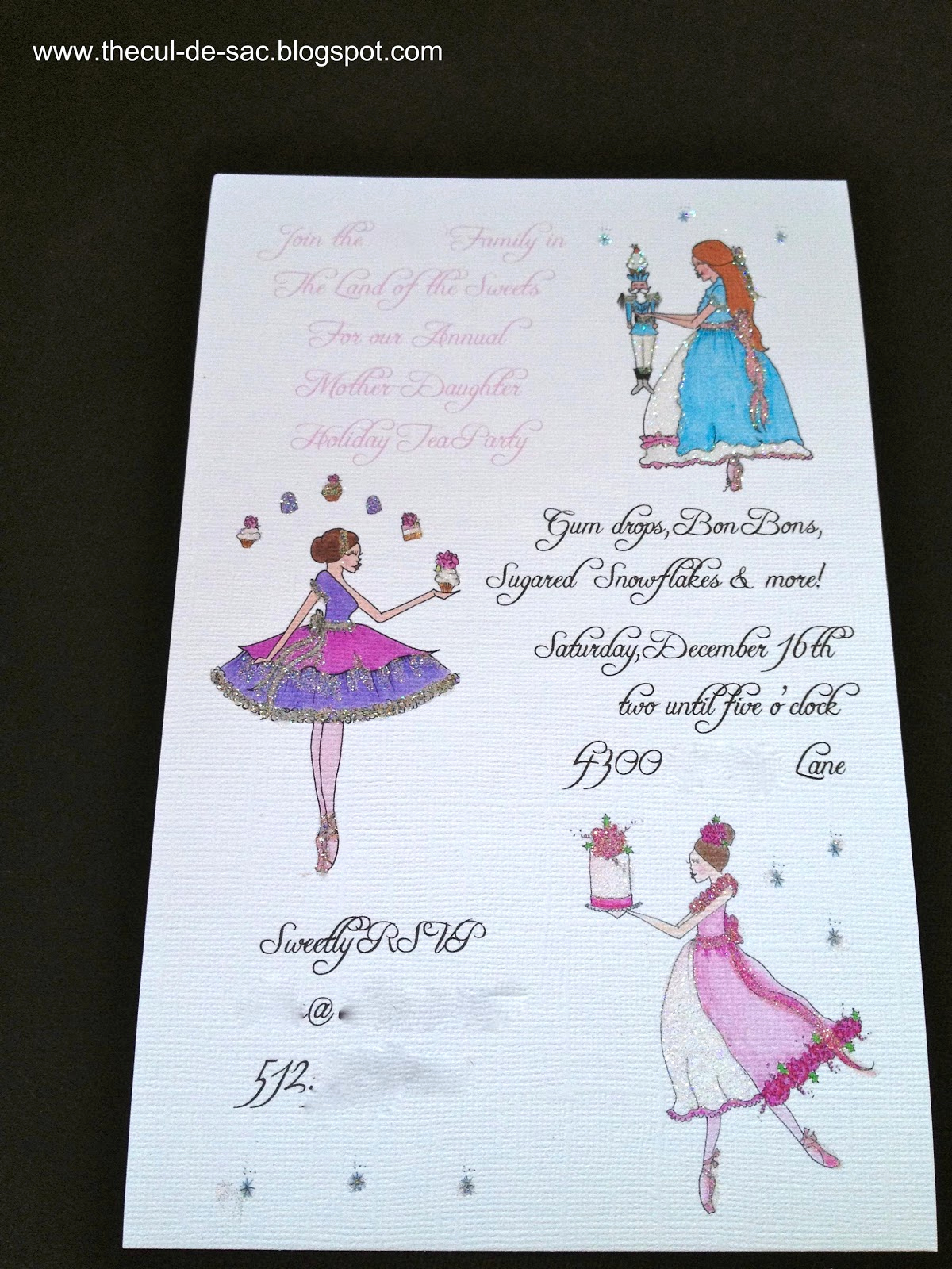 Mother Daughter Tea Invitation Beautiful the Cul De Sac In the Land Of Sweets 2012 Mother