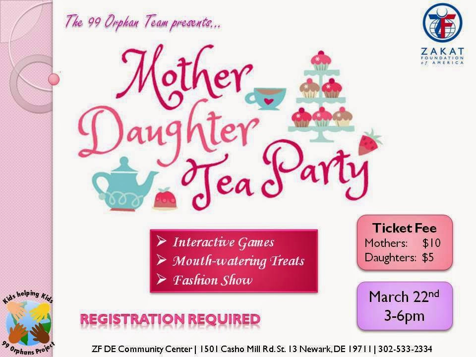 Mother Daughter Tea Invitation Elegant 99 orphans Mother Daughter Tea Party