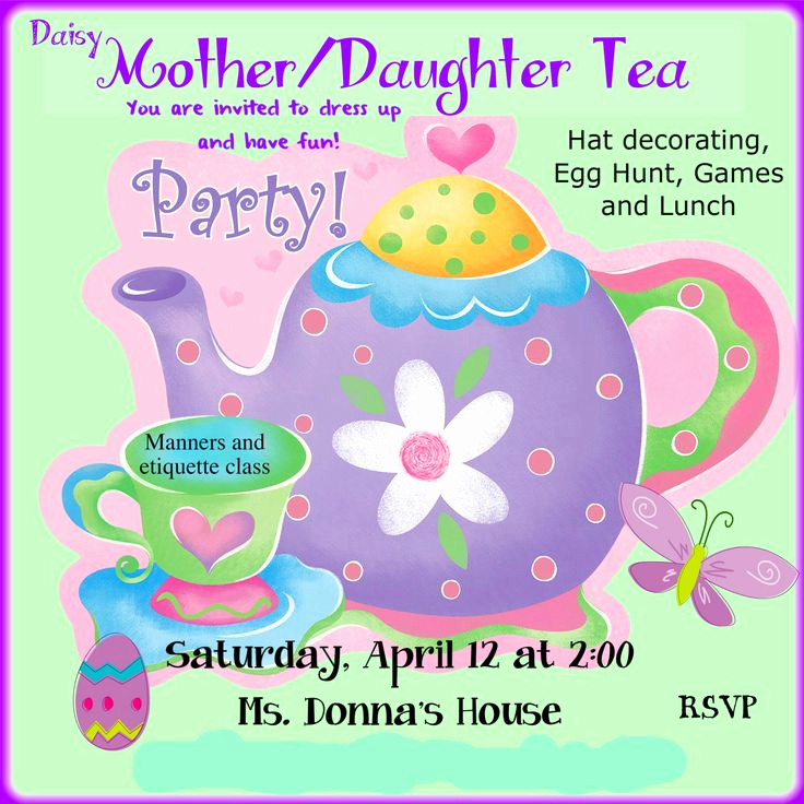 Mother Daughter Tea Invitation Fresh 122 Best Girl Scout Daisy Troop Inspiration Midwest