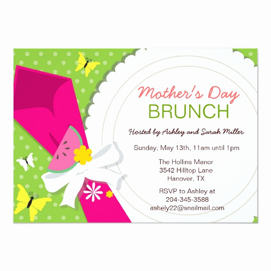 Mother Day Brunch Invitation Awesome Mother S Day Invitations 1700 Mother S Day Announcements