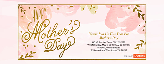 Mother Day Invitation Wording Awesome Free Mother S Day Line Invitations