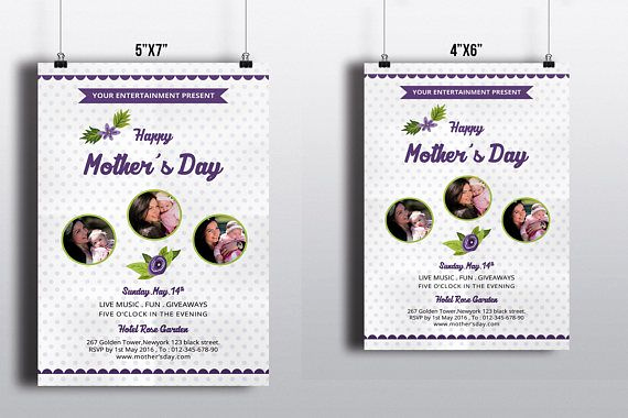 Mother Day Invitation Wording Awesome Mother S Day Flyer Template Mother S Day Invitation
