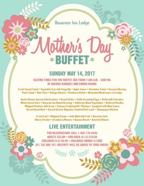 Mother Day Invitation Wording Beautiful Bavarian Inn Of Frankenmuth