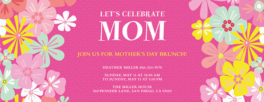 Mother Day Invitation Wording Best Of Mother S Day Free Online Invitations Evite