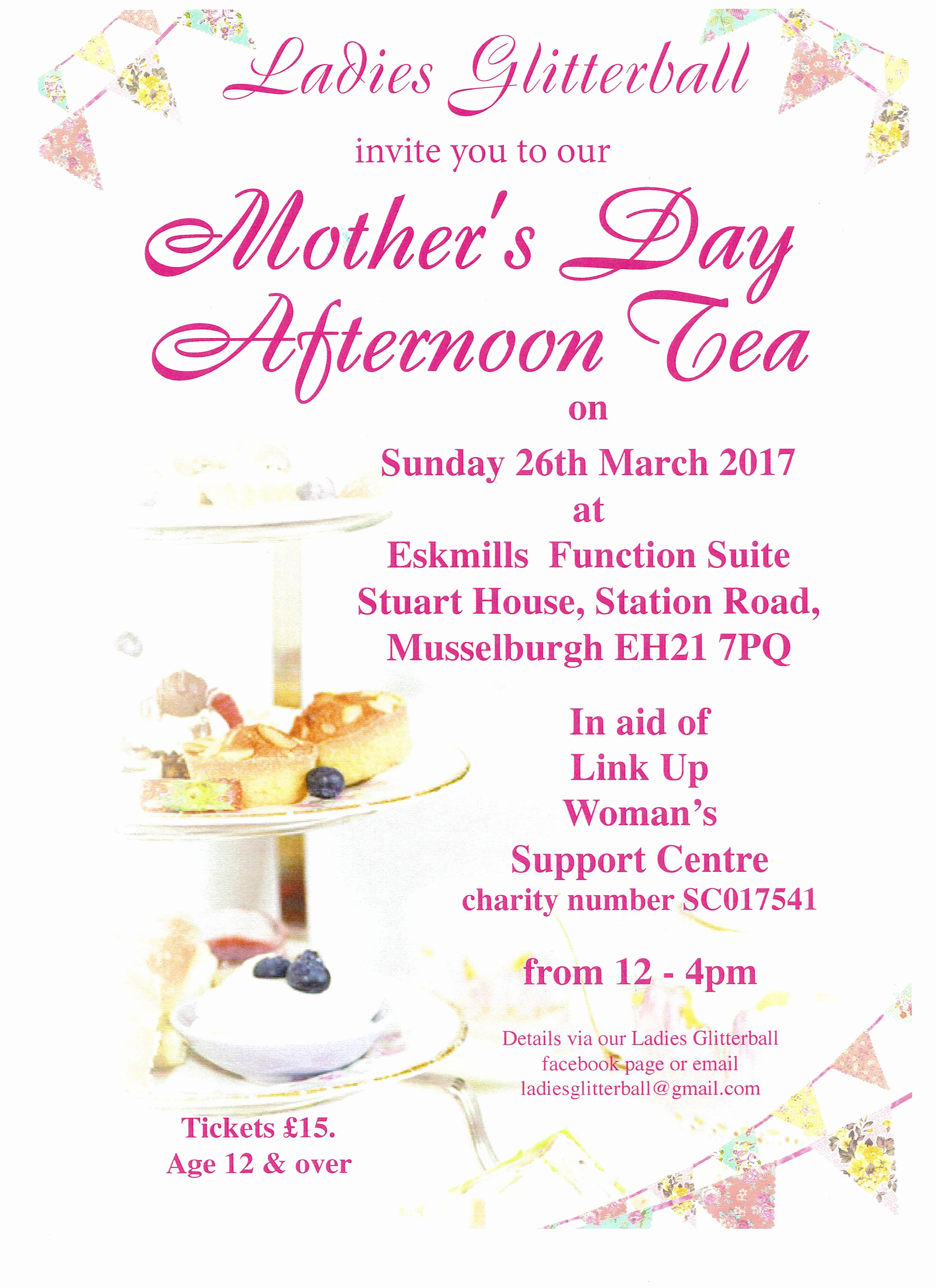 la s glitterball host mothers day afternoon tea
