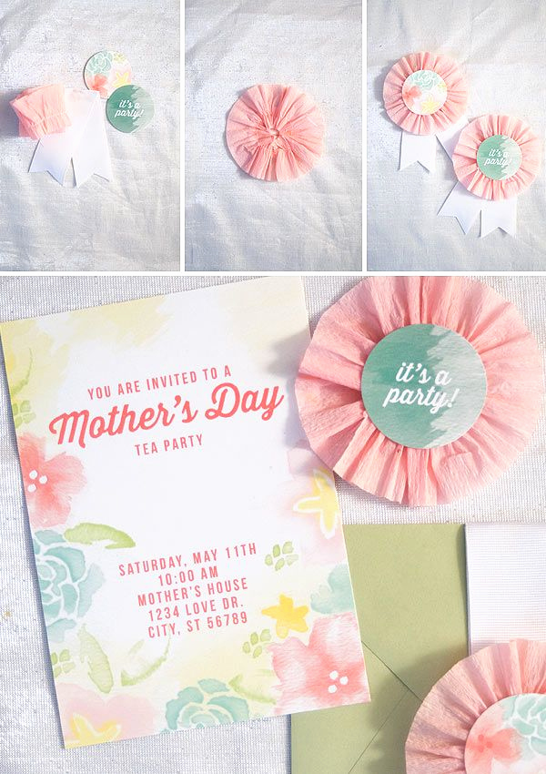Mother Day Tea Invitation Best Of 17 Best Images About Invitation On Pinterest