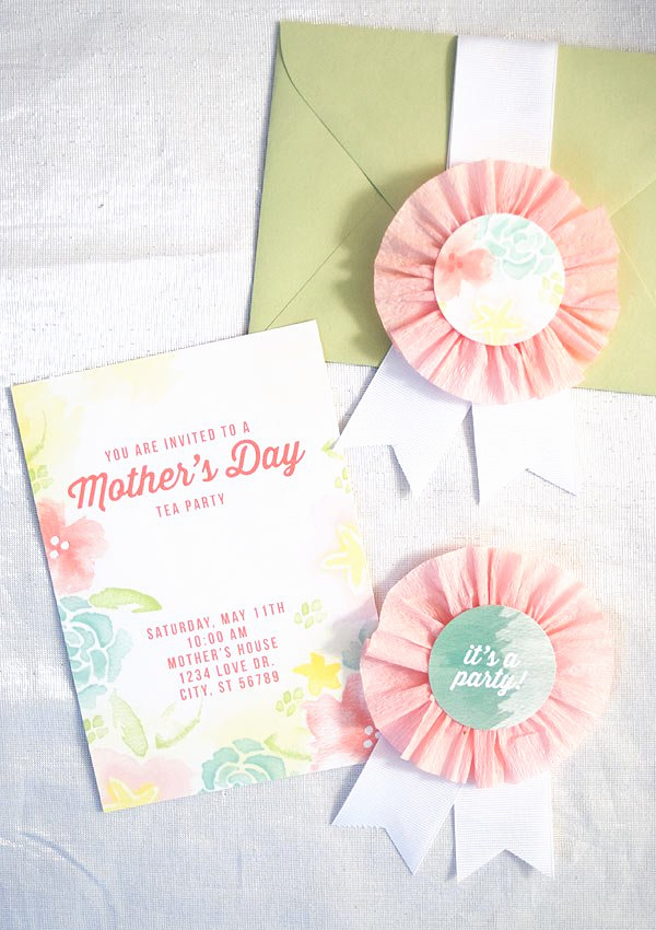 Mother Day Tea Invitation Best Of Undercover Hostess