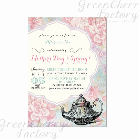 Mother Day Tea Invitation Inspirational 57 Best Mother S Day Tea Images On Pinterest