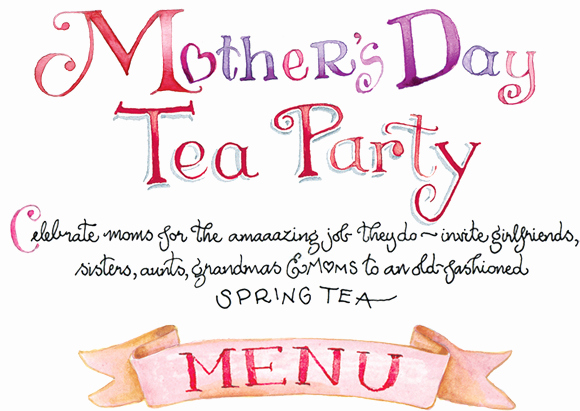 Mother Day Tea Invitation Inspirational Mother's Day Tea