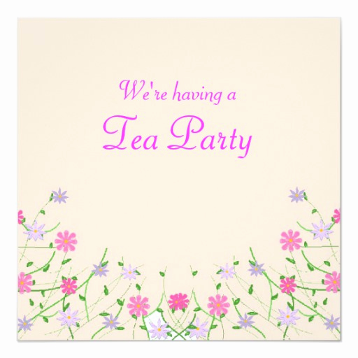 Mothers Day Tea Invitation Awesome Mothers Day Tea Party Invitation