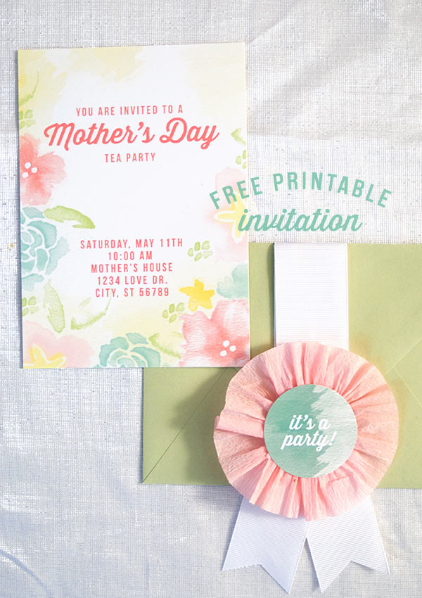 Mothers Day Tea Invitation Fresh to A Mother S Day Tea Invitation