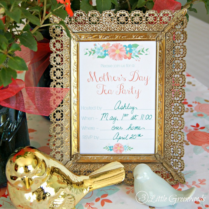 Mothers Day Tea Invitation Luxury Mother S Day Tea Party Invitation Free Printables