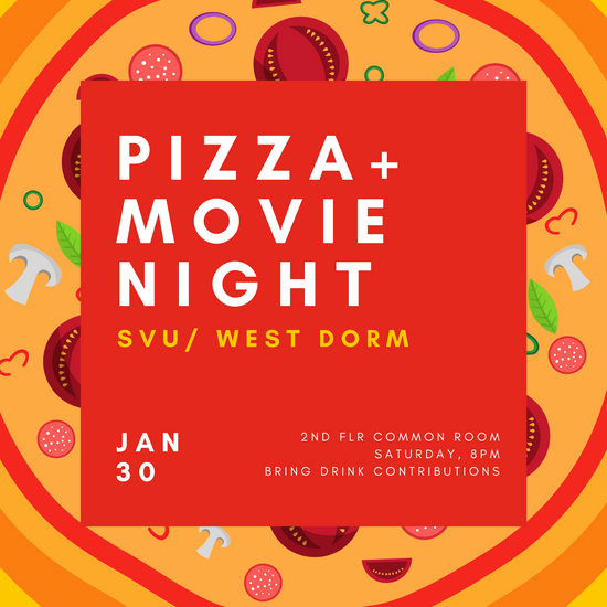 Movie Night Invitation Template Best Of Customize 189 Movie Night Invitation Templates Online Canva