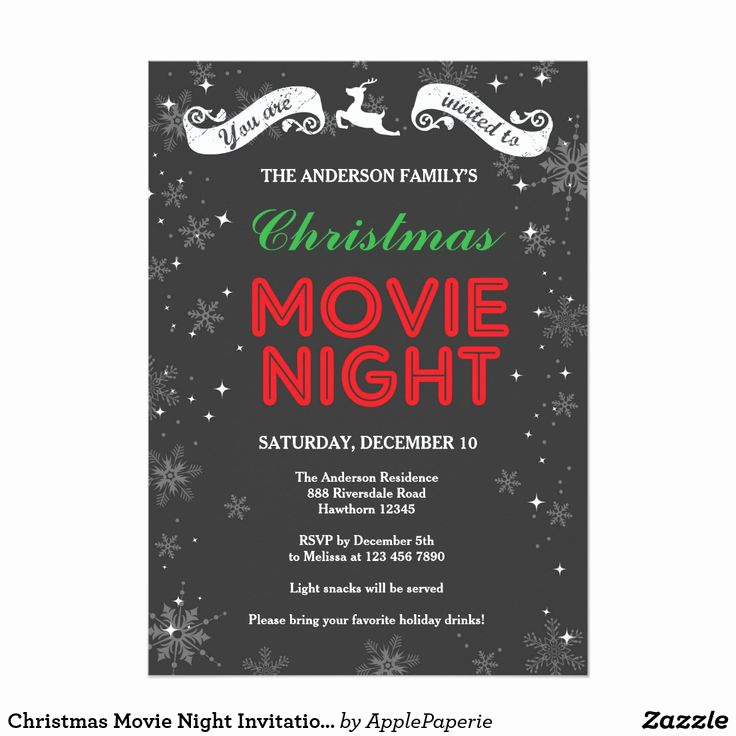 Movie Night Invitation Templates Inspirational Best 25 Movie Night Invitations Ideas On Pinterest