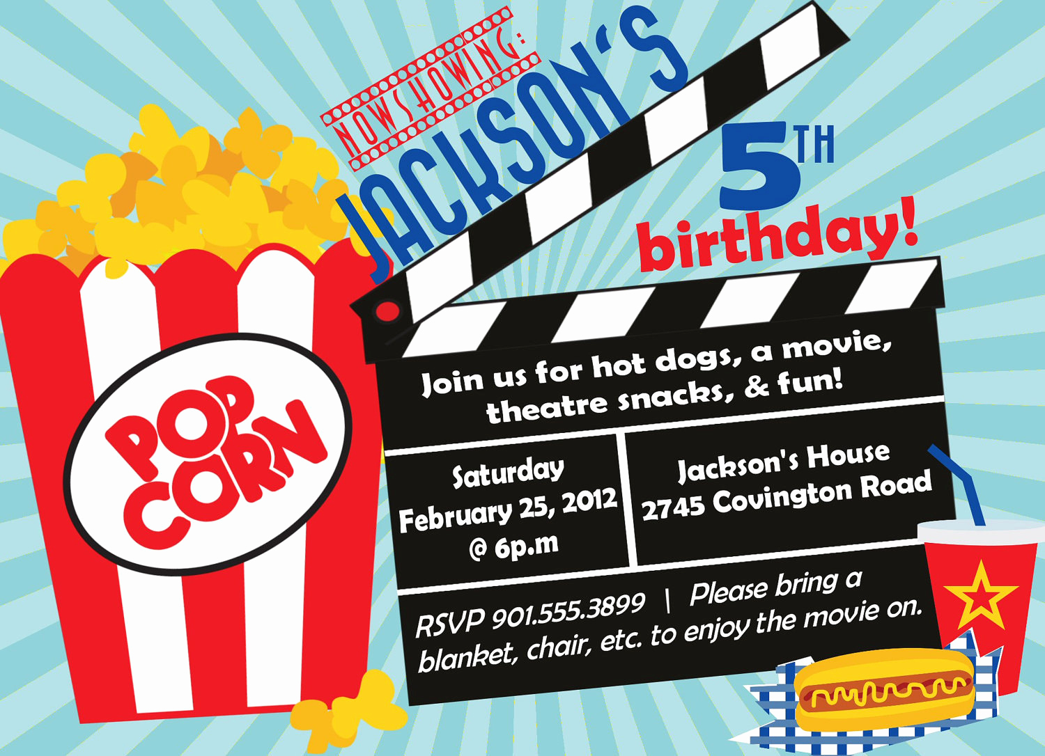 Movie Ticket Birthday Invitation Fresh Frozen Movie Ticket Birthday Invitations