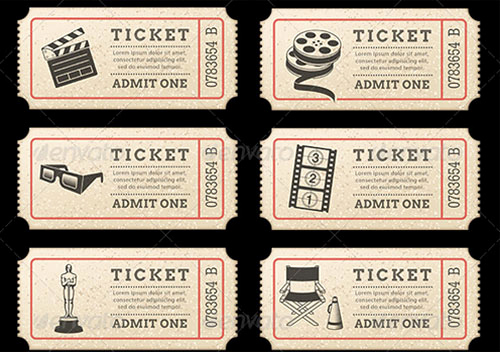 Movie Ticket Invitation Template Lovely Movie Ticket Invitation Template Free