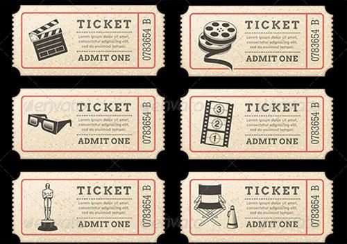 Movie Ticket Invitation Template Lovely Movie Ticket Invitation Template Free