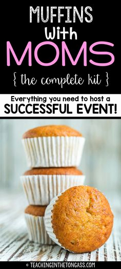 """Muffins with Mom Invitation Lovely Mother S Day """"muffins for Moms"""" Invitations that I Made"""