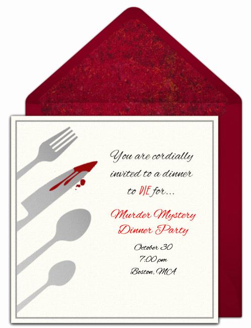 Murder Mystery Dinner Invitation Fresh How to Host A Murder Mystery Dinner Party