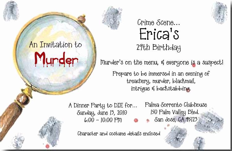 Murder Mystery Dinner Invitation Unique Odd Balls Odd 3332 and Murder Mystery Invitations Murder