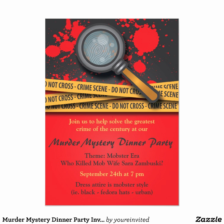 Murder Mystery Invitation Template Free Fresh Murder Mystery Dinner Party Invitation