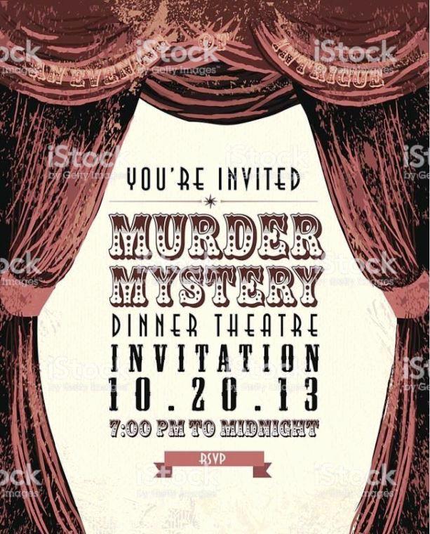Murder Mystery Invitation Template Free Fresh Murder Mystery Invitation Template Sampletemplatess