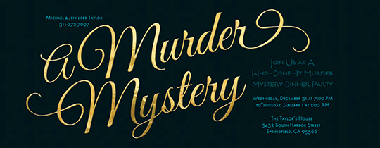 Murder Mystery Invitation Template Free Inspirational Dinner Party Free Online Invitations