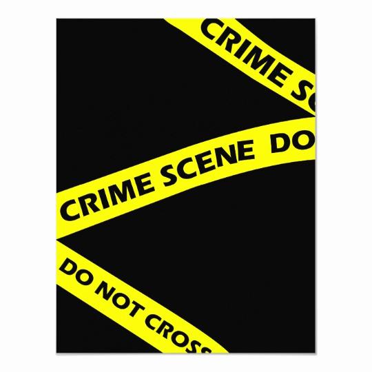 Murder Mystery Invitation Template Free Luxury Crime Scene Tape Murder Mystery Party Invitation