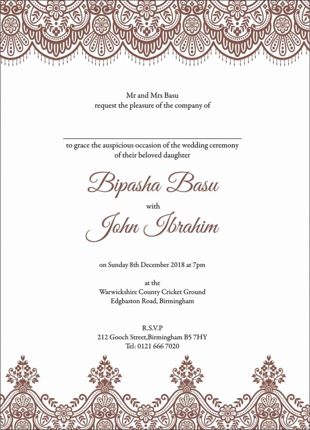 Muslim Wedding Invitation Wording Unique 27 Brilliant Picture Of Muslim Wedding Invitations