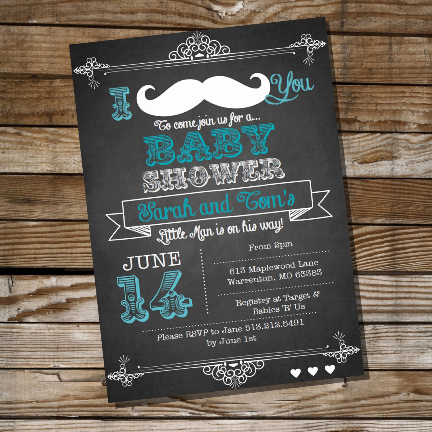 Mustache Baby Shower Invitation Elegant Mustache Baby Shower Invitation for A Boy Instantly