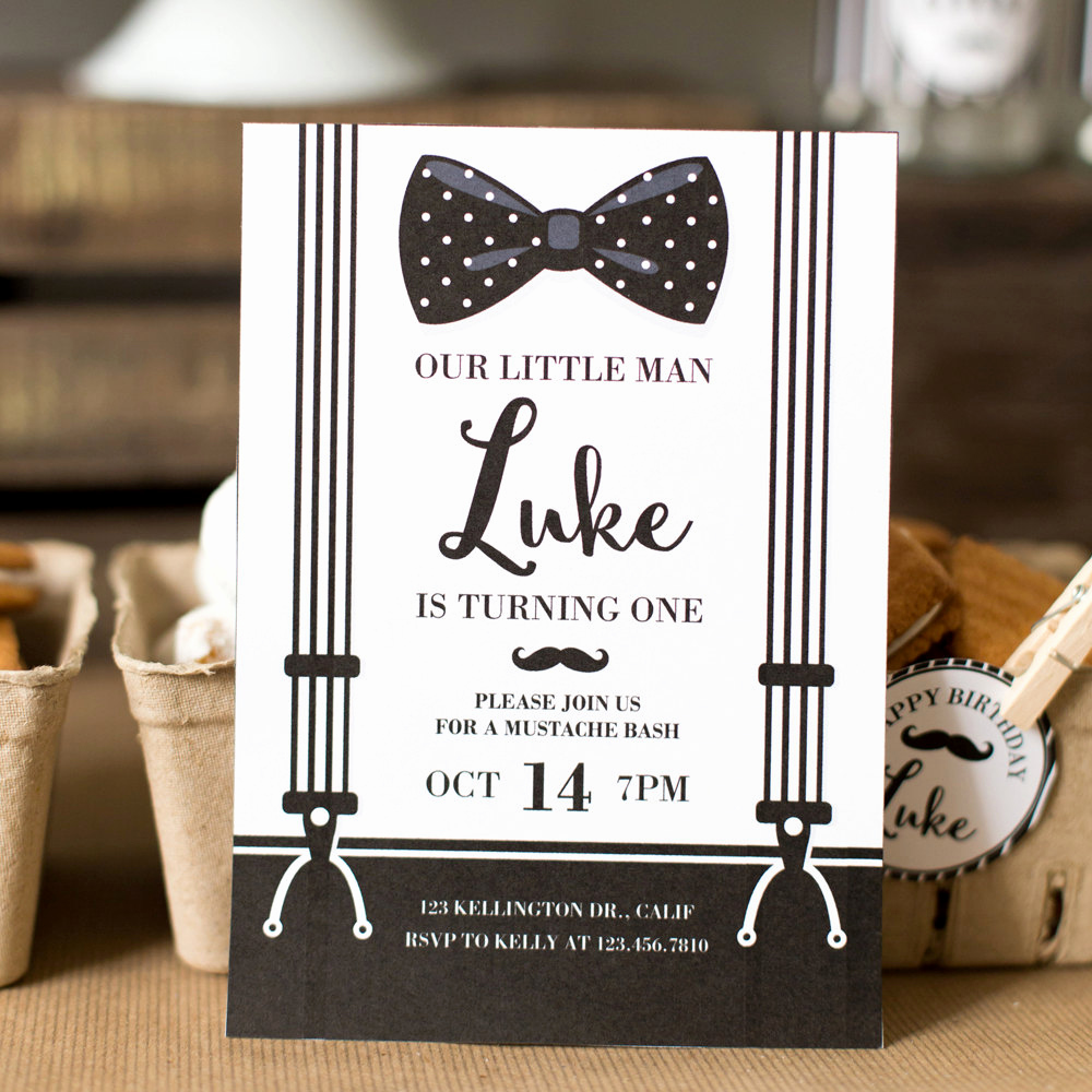 Mustache Baby Shower Invitation Fresh Mustache Invite Mustache Invitation Mustache Party Little