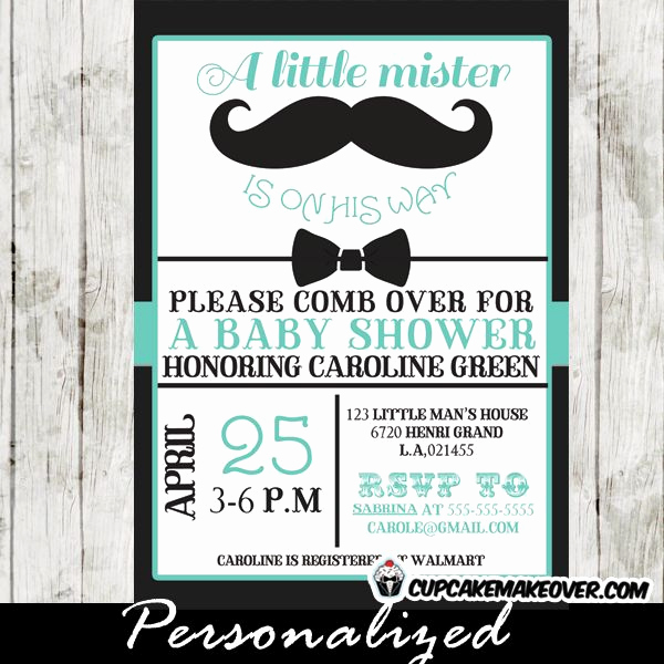 Mustache Baby Shower Invitation Luxury Best 25 Mustache Baby Showers Ideas On Pinterest