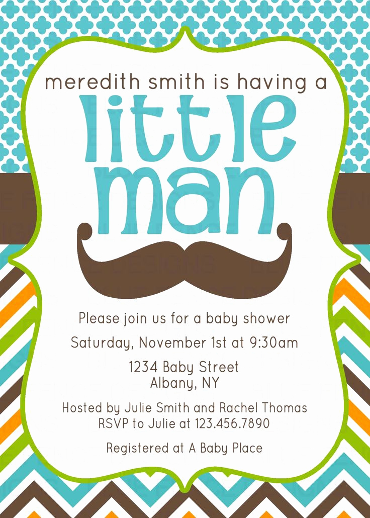 Mustache Baby Shower Invitation New 17 Best Images About Tie Mustache Baby Shower On Pinterest