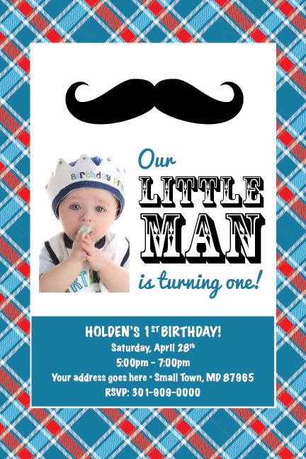 Mustache Baby Shower Invitation Templates Awesome Little Man Mustache Printable 1st Birthday Party Baby