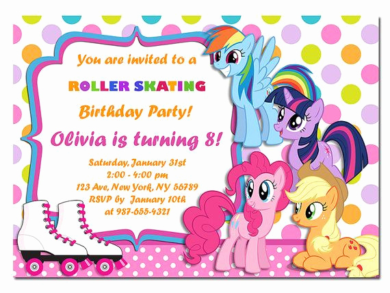 My Little Pony Birthday Invitation Awesome 1000 Ideas About My Little Pony Invitations On Pinterest