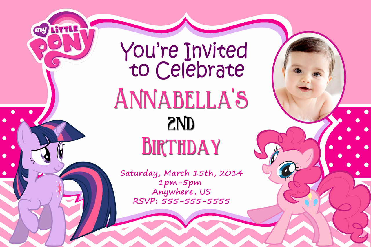 My Little Pony Birthday Invitation Inspirational Free Printable My Little Pony Birthday Invitations