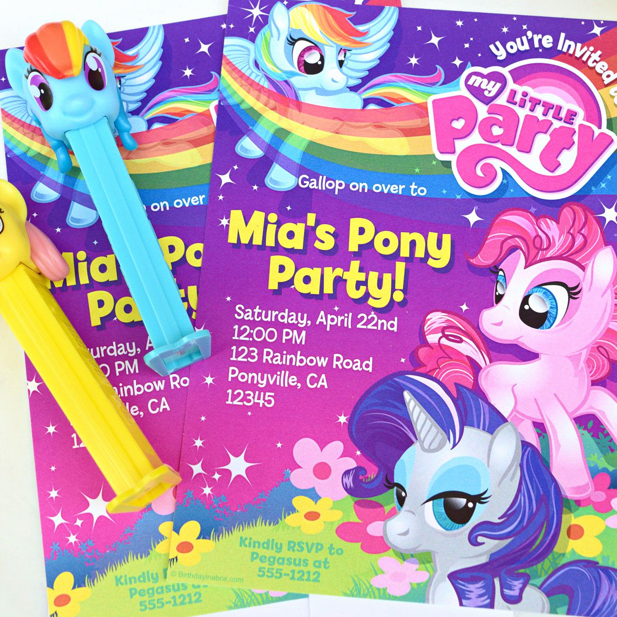 My Little Pony Birthday Invitation Lovely My Little Pony Party Ideas