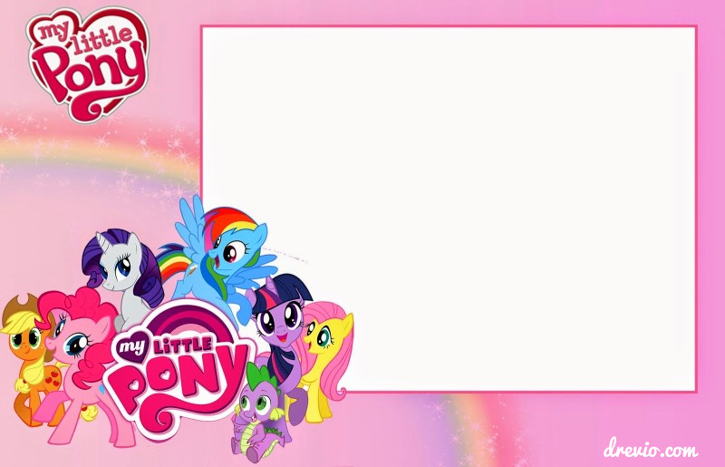 My Little Pony Invitation Awesome Updated Free Printable My Little Pony Birthday